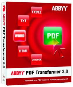 Abbyy PDF  Transformer 3.0.100.399 + RUS + CRACK